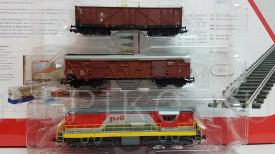 PIKO 59783-3 грузовой состав ЧМЭ3 РЖД