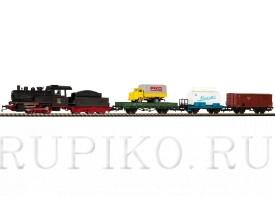 PIKO 97913 Грузовой состав с паровозом СЖД