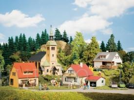 Auhagen 15201 Набор строений город Waldkirchen