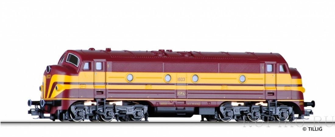 Tillig 04537 Дизельный локомотив Reihe 1600
