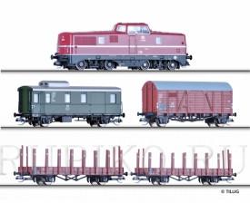 Tillig 01207 Стартовый набор V80 и 4 вагона DB