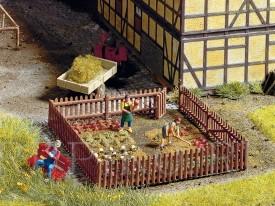 Noch 13070 Забор дачного огорода