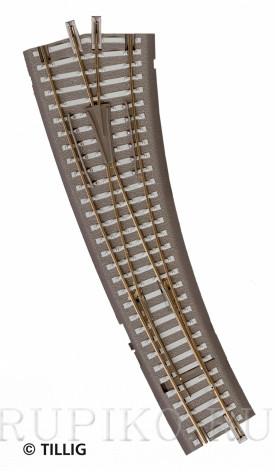 Tillig 83861 Стрелка правая радиусная 15 TT