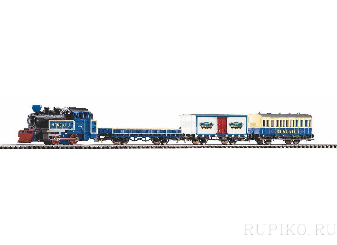 PIKO 57142 состав с паровозом Roncalli