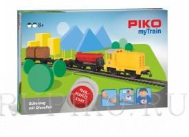 PIKO 57090 Детская железная дорога Грузовой поезд