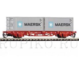PIKO 47720 Платформа с контейнерами Maersk