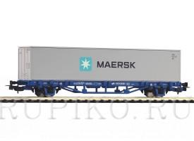 PIKO 58743 Платформа с контейнером