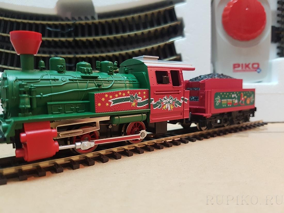 """детская железная дорога """"Рождественский поезд"""""""
