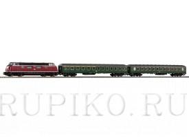 PIKO 57132 пассажирский состав BR 220
