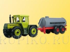 Kibri 12234 Трактор с прицепом