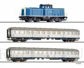 Tillig 01443 TT Стартовый набор Пассажирский состав V100 DB