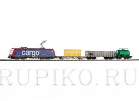 PIKO 57187 Грузовой поезд SBB BR 185
