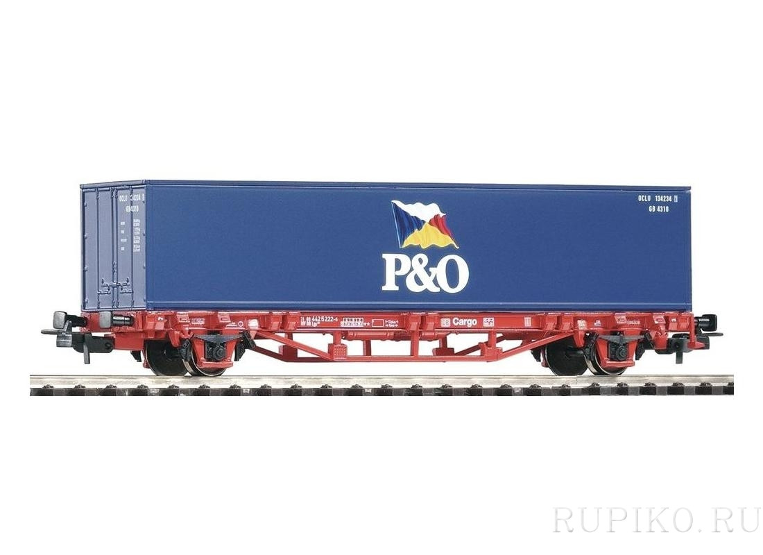 PIKO 57706 Платформа  с контейнером