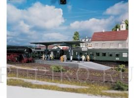 PIKO 61821 Платформа Burgstein
