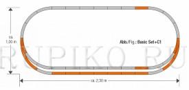 Roco 61152 набор пути C1
