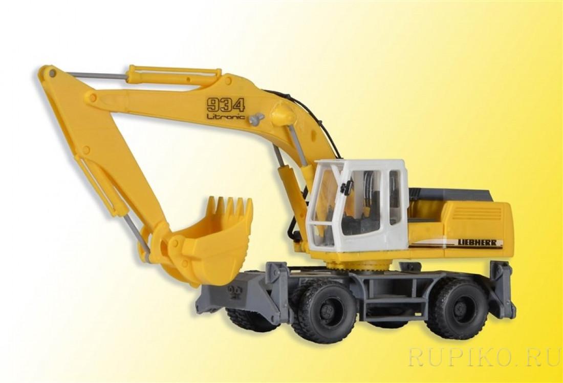 Kibri 11261 Экскаватор колёсный LIEBHERR 934