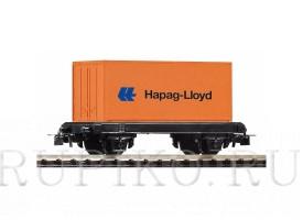 PIKO 57022 Игрушка платформа с контейнером