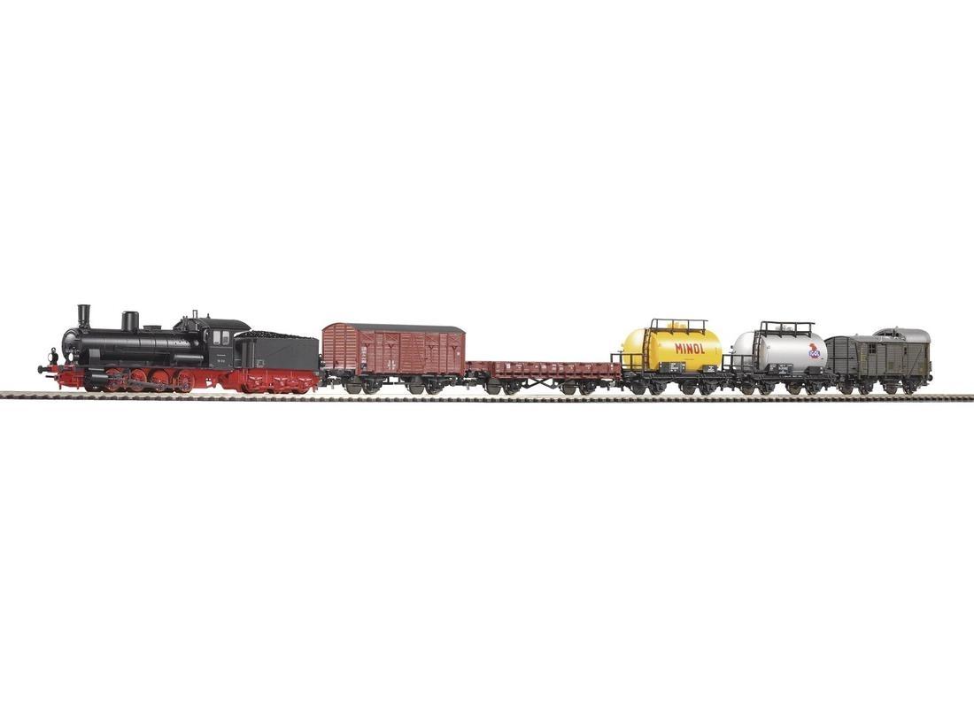 PIKO 57120 Паровоз BR 55 с грузовым составом
