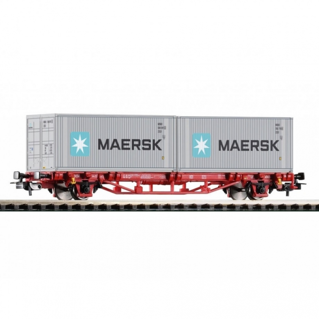 PIKO 58718 Платформа с контейнерами Maersk
