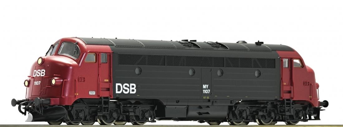 Roco 52614 Дизельный локомотив Reihe MY DSB