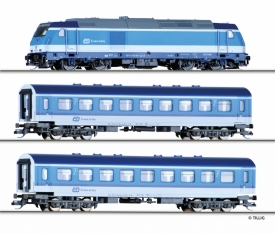 Tillig 01442 TT Пассажирский состав Traxx
