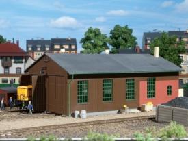 Auhagen 11332 Депо на два локомотива