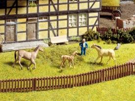 Noch 13080 Деревянная ограда