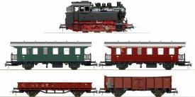 ROCO 51244 Паровоз с двумя составами