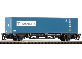 PIKO 47713 Платформа с контейнером Finncarriers