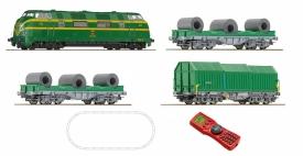 ROCO 51269 Стартовый набор грузовой поезд со звуком