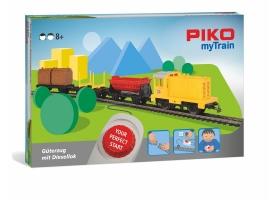 PIKO 57090 Детская железная дорога игрушка с тепловозом