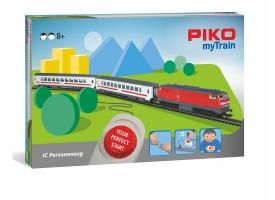PIKO 57095 Детская железная дорога BR218 +2 вагона