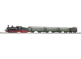 PIKO 57121 Паровоз BR 80 с пассажирским составом