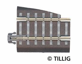 Tillig 83722 TT Прямой рельс левый G5
