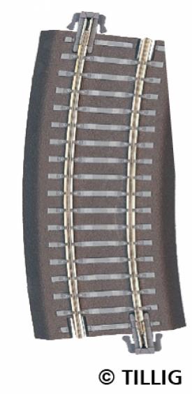 Tillig 83725 TT Радиусный рельс правый
