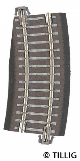 Tillig 83726 TT Радиусный рельс левый
