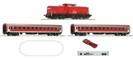 ROCO 51285 тепловоз BR204 и пассажирским составом