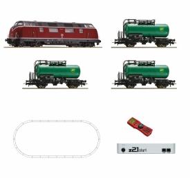 ROCO 51290 BR 220 с грузовым составом