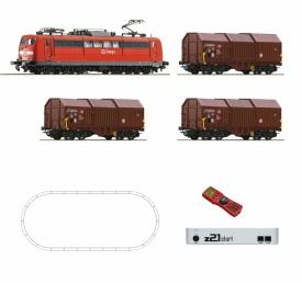 ROCO 51293 BR 151 с грузовым составом
