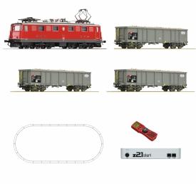 ROCO 51296 Ae 6/6 с грузовым составом