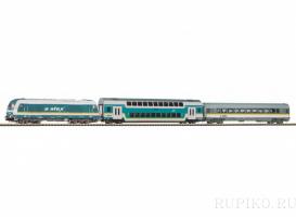 PIKO 57139 Пассажирский поезд ALEX