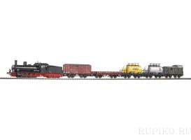 PIKO 57123 Паровоз BR 55 с грузовым составом