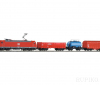 PIKO 59004 SmartControl light грузовой состав BR185